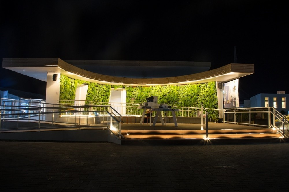 Installation at the Solar Decathlon Middle East 2018