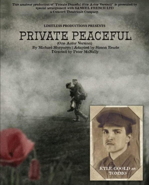 Private Peaceful – Performance on 26th Sep 2021