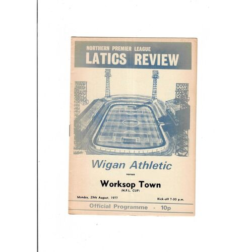 Wigan Athletic Home Football Programmes