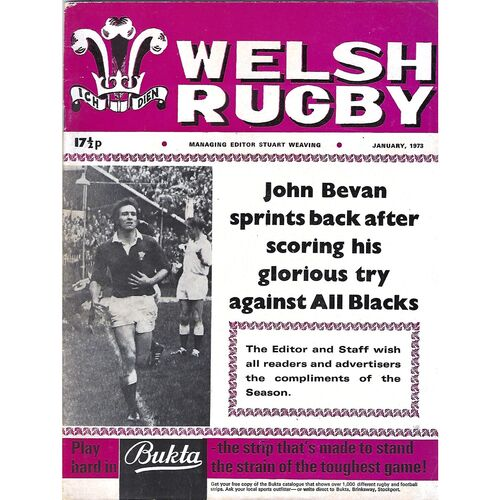 1973 Welsh Rugby Magazine (01/1973)