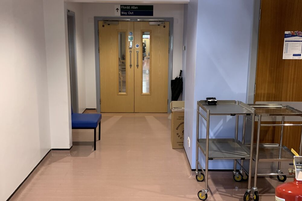 Asbestos Removal in X-Ray Room