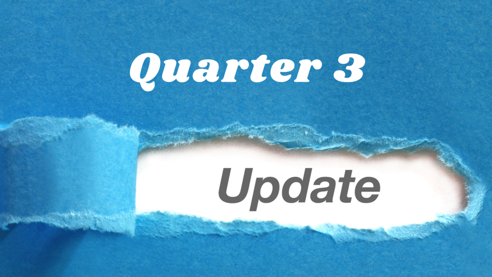 Quarter 3 Update from TSR Select