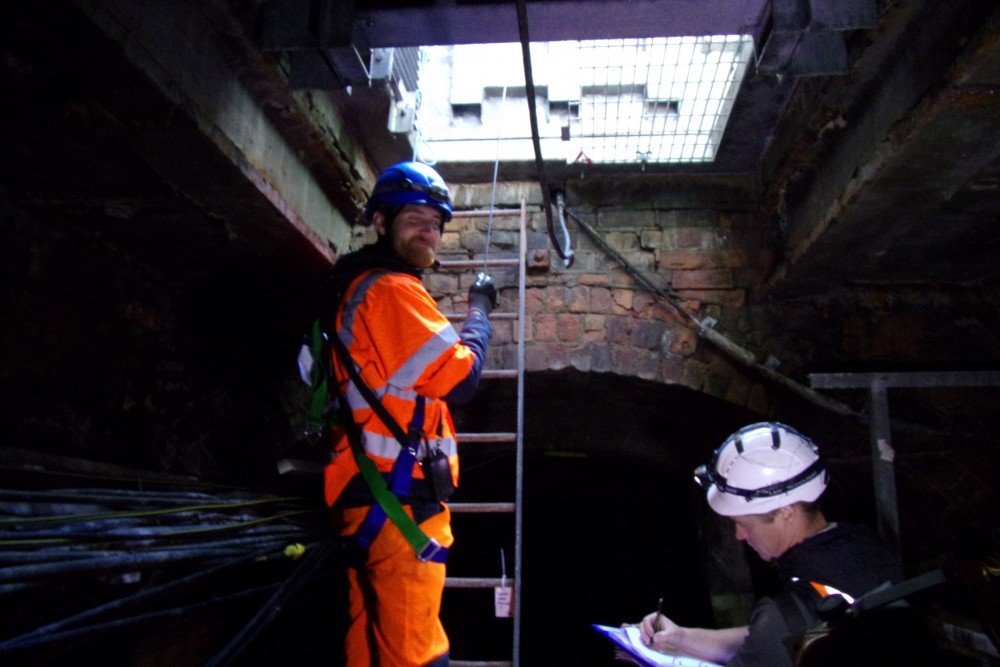 Confined Space Structural Inspection