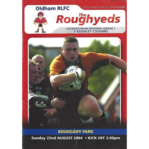 Keighley Away Rugby League Programmes