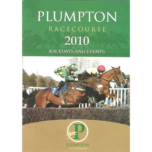2010 Plumpton Racecourse Racedays & Events Pamphlet