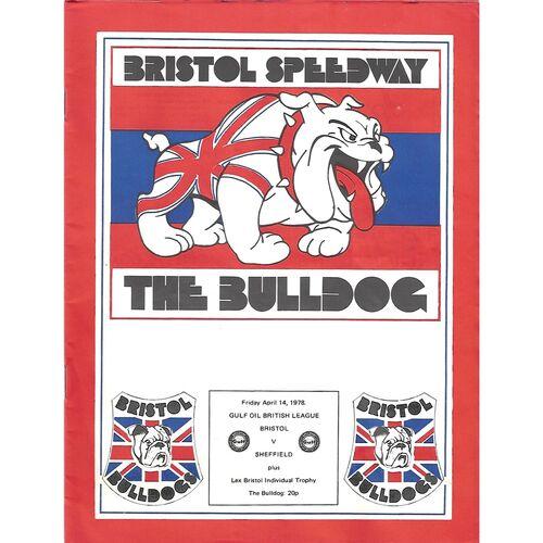 Bristol Home Speedway Programmes