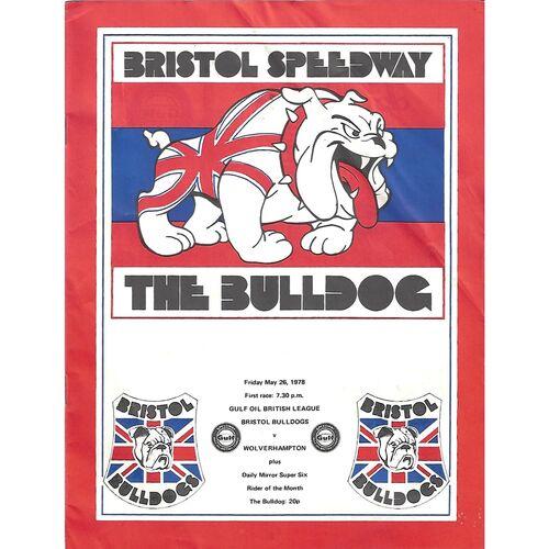 Wolverhampton Away Speedway Programmes