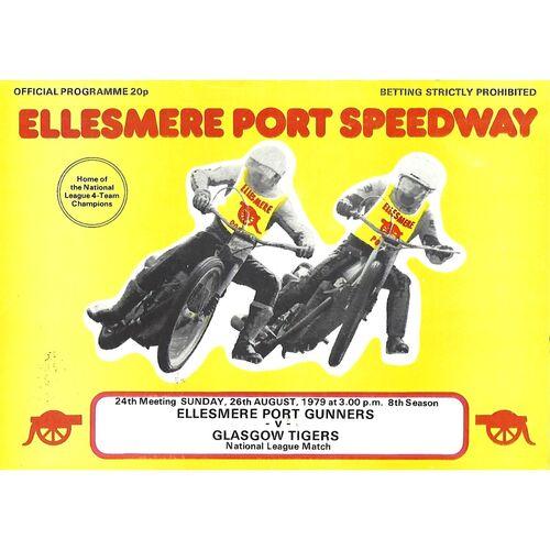 Ellesmere Port Home Speedway Programmes