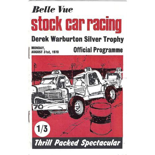 Stock Car Racing Programmes