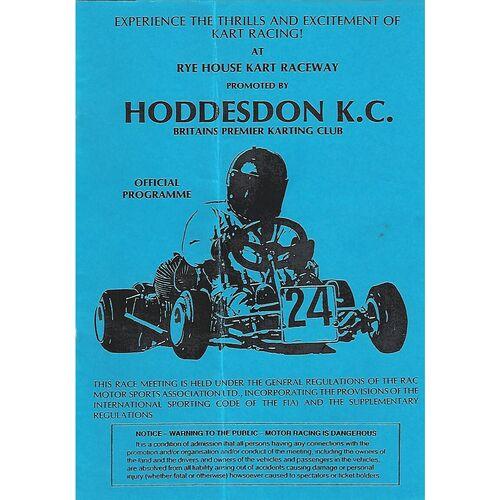 Go-Kart Racing Programmes