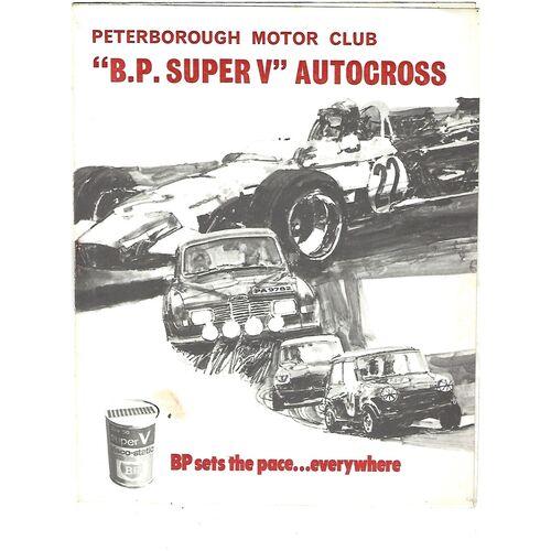 "???? Peterborough Motor Club ""B.P Super V"" Autocross Programme"