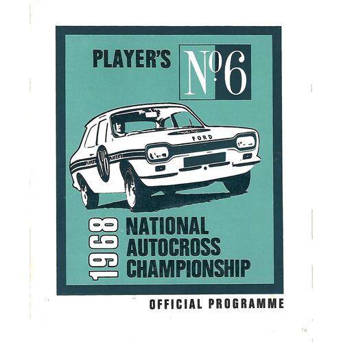 Autocross Racing Programmes
