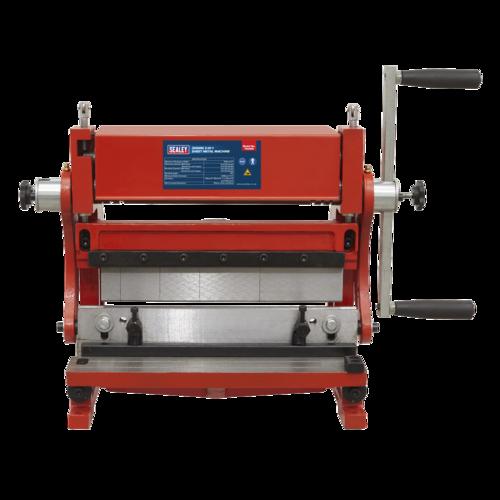 3-in-1 Sheet Metal Machine 305mm - Sealey - TIO305