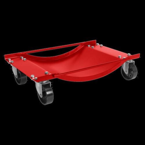 Wheel Dolly Set 454kg Capacity - Sealey - WS454