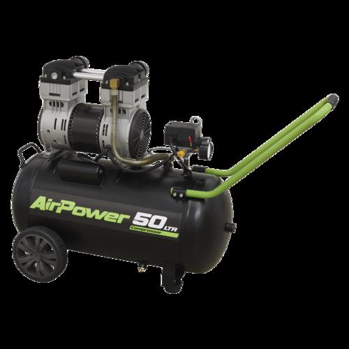 Silent Compressor 50L Direct Drive 1.6hp - Sealey - SAC5016S