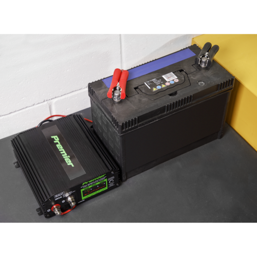Battery Support Unit & Charger 30A - Sealey - SPBC30