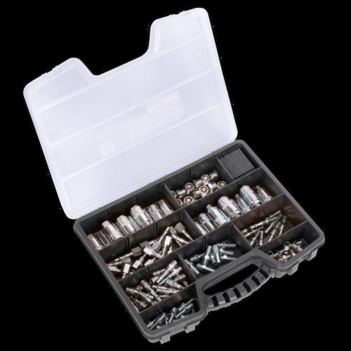 Air Coupling Kit 110pc - Sealey - AC110K