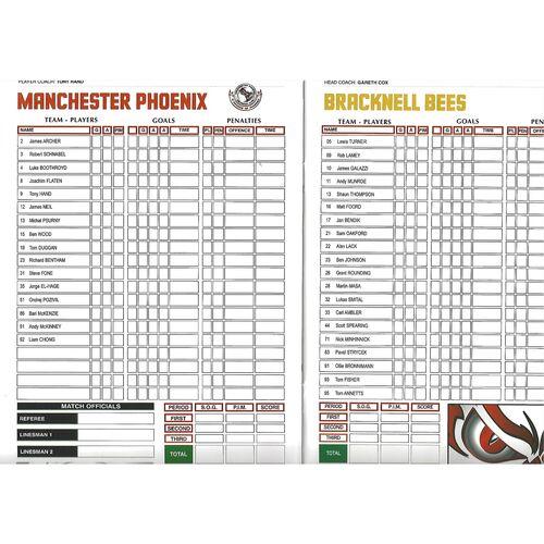 2012/13 Manchester Phoenix v Bracknell Bees (26/01/2013) English Premier League Ice Hockey League Game Programme