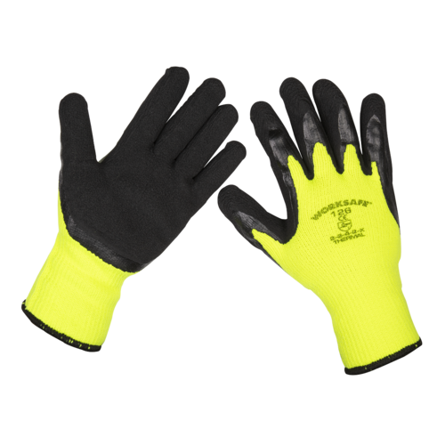 Thermal Super Grip Gloves - Pack of 120 Pairs - Sealey -  9126/B120