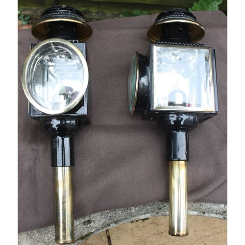 Brass Carriage Lamps  **NEW ADVERT Oct 2021**