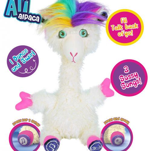 Ali Alpaca | Hilarious Dancing Toy | Talks Back, Wiggles and Dances Like Crazy!