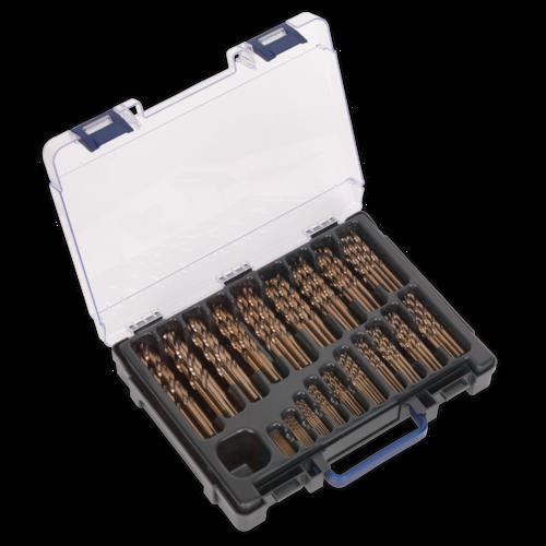HSS Cobalt Fully Ground Drill Bit Assortment 170pc Ø1-10mm