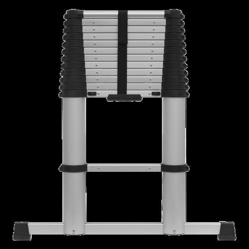 Aluminium Telescopic Ladder 13-Tread EN 131 - Sealey - ATL13