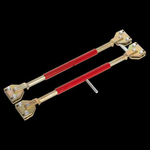 Door Restraining Bars Pack of 2 - Sealey - DR66