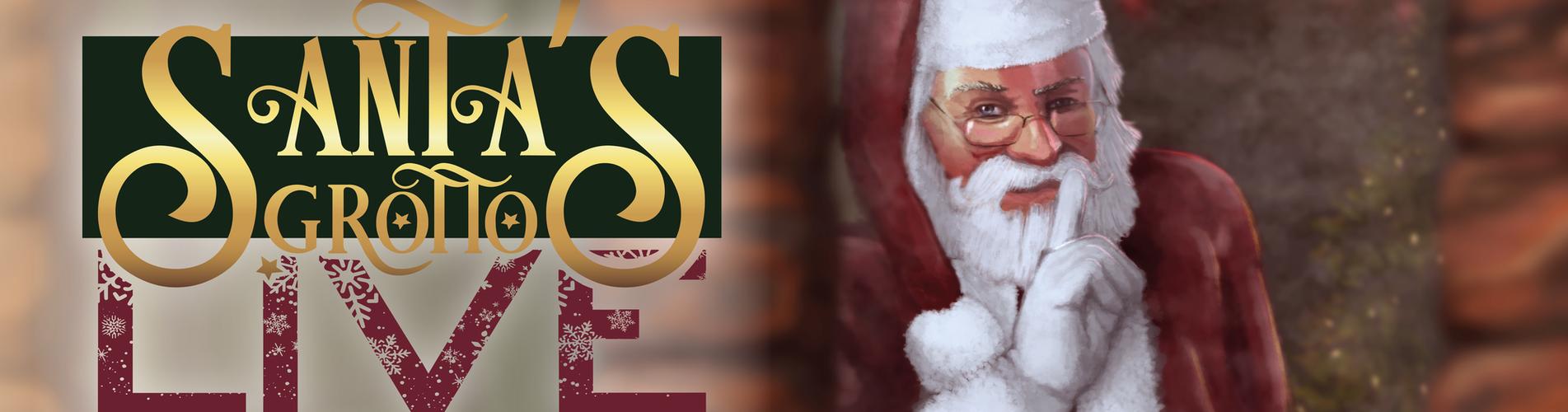 Santa's Grotto Live poster