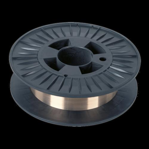 Copper Silicon Bronze MIG Wire 4kg 0.8mm C9 Grade - Sealey - MIG/4K/BW08