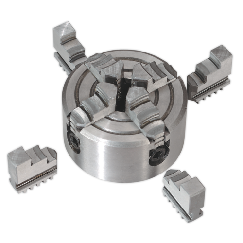 Independent Chuck 4-Jaw -  Sealey - SM30024JC