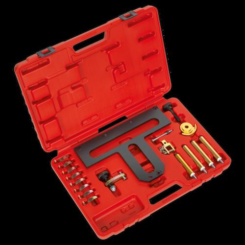 Petrol Engine Camshaft/Carrier Removal/Installation Kit - BMW 1.8, 2.0 N42/N46/N46T - Chain Drive - Sealey - VSE5926