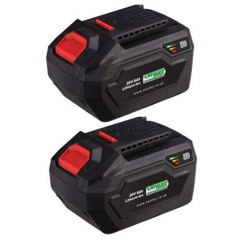 Power Tool Battery Pack 20V 6Ah Kit for SV20V Series - Sealey - BK06