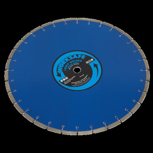 Premium Blue WDH Diamond Blade Ø450 x 25mm - Sealey - WDH450