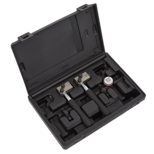 On-Vehicle Micro Brake Pipe Flaring Tool Set - Sealey - PFT11