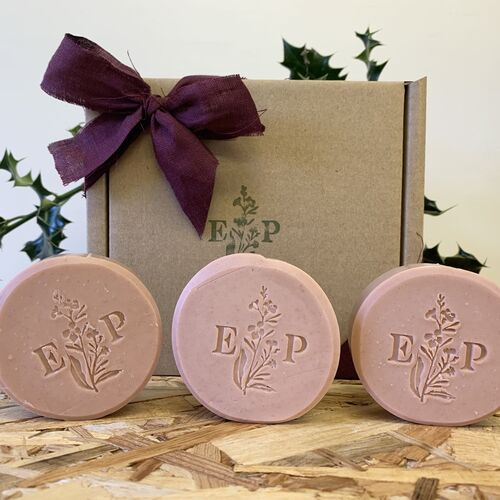Geranium Soap gift