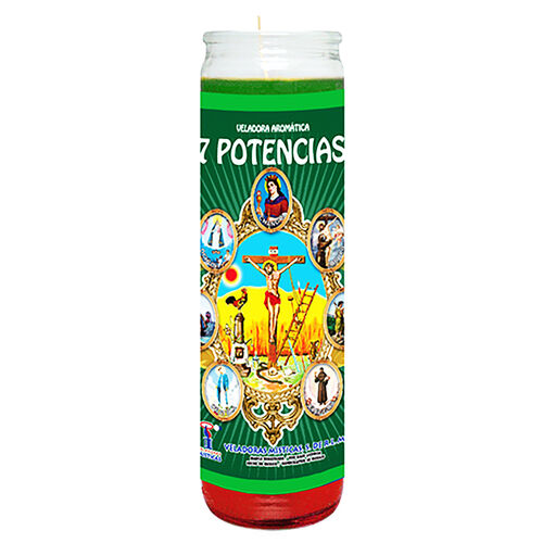 7 African Powers Dressed Candle