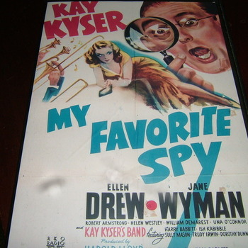 my favourite spy 1942 dvd kay kyser
