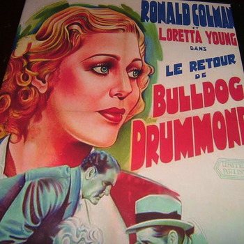 bulldog drummond strikes back 1934 dvd