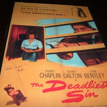 the deadliest sin 1955 dvd