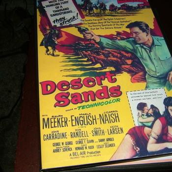 desert sands 1955 dvd