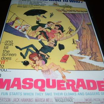 masquerade 1965 dvd jack hawkins cliff robertson