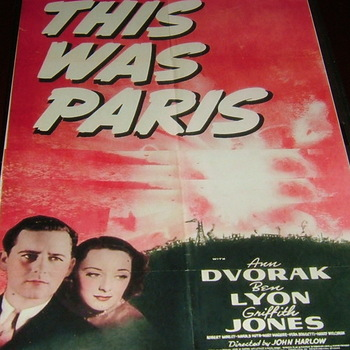 this was paris 1942 dvd ann dvorak