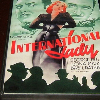 international lady 1941 dvd basil rathbone george brent