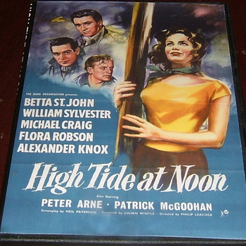 high tide at noon 1957 dvd  michael craig