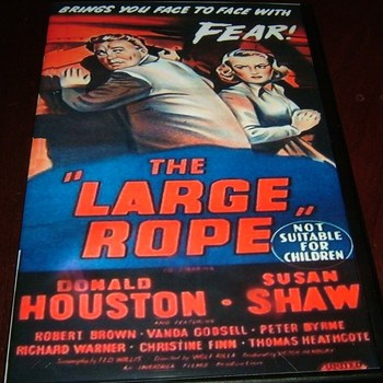 the large rope 1953 dvd donald houston susan shaw