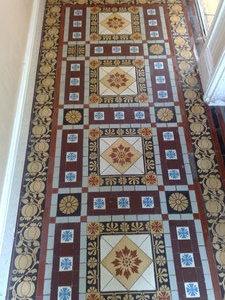 minton floor restoration