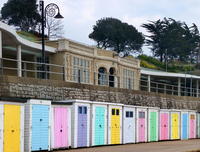Beach huts, Lyme Regis