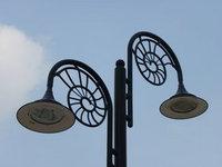 Streetlights, Lyme Regis