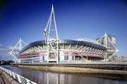 Cardiff Stevedoring handle all structural steework for the Millennium Stadium, Cardiff, 1998
